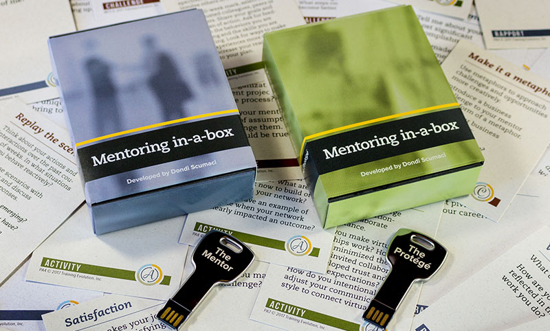 photo of mentoring in a box